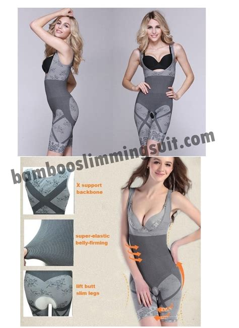 Bamboo Slimming Suit Asli nature bamboo slimming suit grade a
