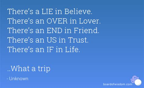 what s in a name lies believelies there s a lie in believe there s an in lover there