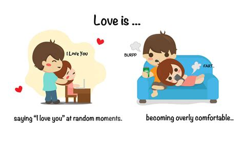 images of love is these adorable web comics prove that love is in the little