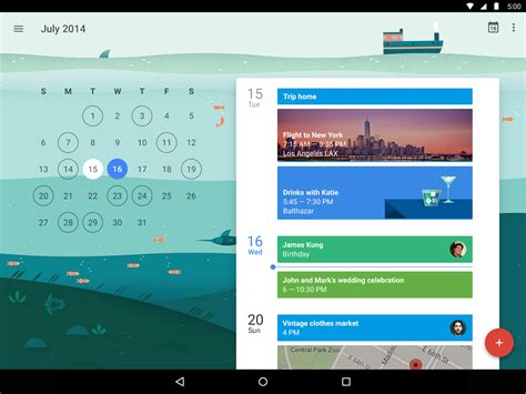 calendar app android how to calendar events