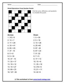 worksheets order of operations puzzle search results