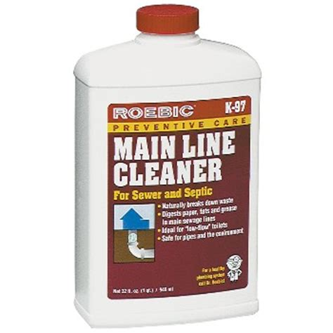 Plumbing Chemicals buy the roebic k 97 q 12 line cleaner hardware world