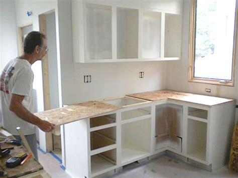 Corner Cabinet Desk Diy Ardex Concrete Counters Sarah S Big Idea