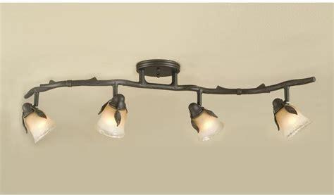 rustic track lighting fixtures rustic track lighting fixtures shop portfolio 4 light