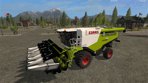 claas lexion 780 set v1 0 ls 2017 farming simulator 2017