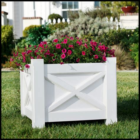 planter boxes for commercial projects pvc commercial size