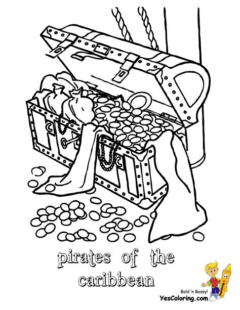 Pirates Caribbean Coloring Pages Pirates Of The Of The Caribbean Coloring Pages