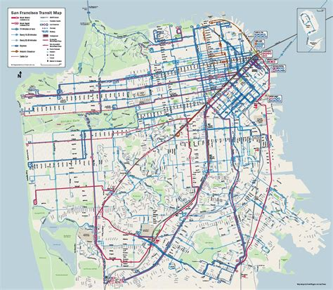 san francisco route map maps vs muni maps what the map makeover says