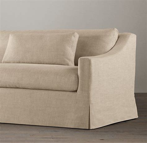 belgian classic slope arm slipcovered sofa 17 best images about sofa on leather sofas