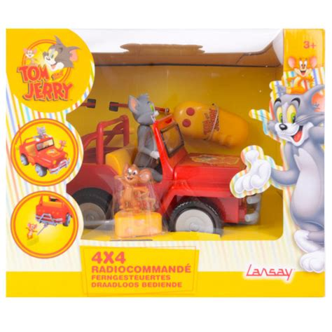 Figure Tom And Jerry tom and jerry radio 4x4 jeep car truck with cat