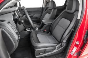 2015 Chevrolet Colorado Interior 2015 Chevrolet Colorado Z71 Front Interior Seats Photo 31
