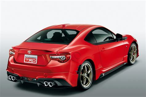Toyota 86 Gt Trd Releases Parts For 2017 Toyota Gt 86 In Japan