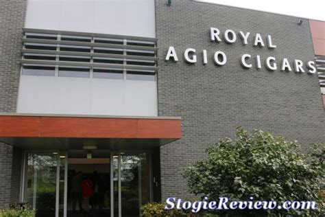 Second Hand Factory Dortmund by Royal Agio Factory Tour The Stogie Review