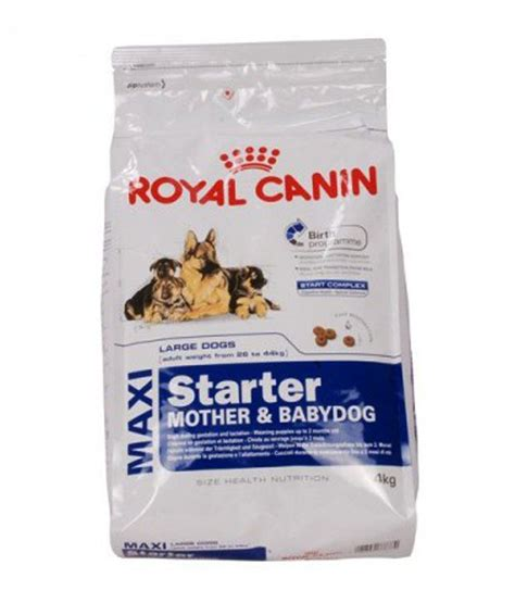 Royal Canin Maxi royal canin maxi starter 4kg buy royal canin maxi starter 4kg at low price snapdeal