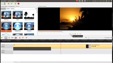 tutorial openshot linux openshot the best video editor for linux tutorial youtube