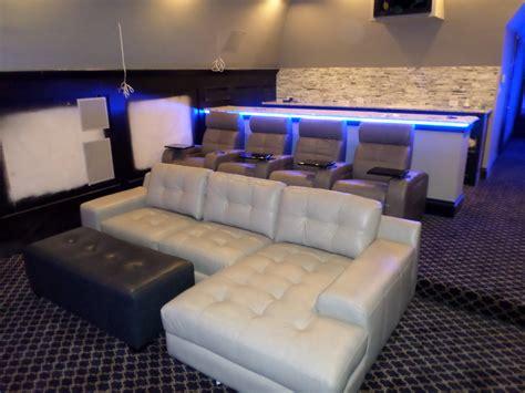 palliser media sectional   palliser home theater