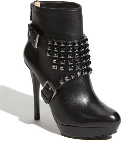 rock n roll boots for michael michael kors rock n roll boot in black lyst
