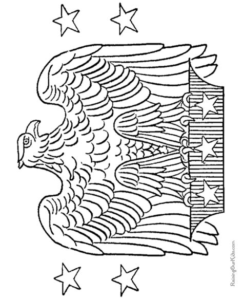 usa eagle coloring page free coloring pages of eagle football