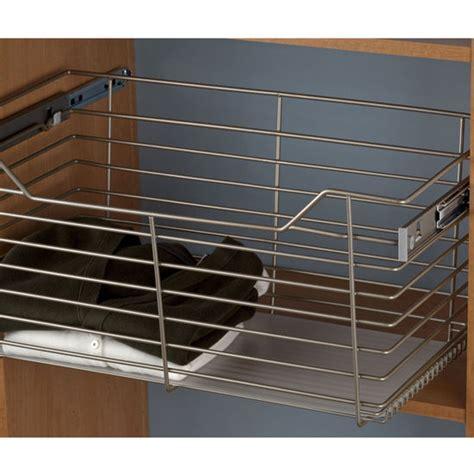Closet Storage Baskets by Hafele Closet Storage Baskets With Slides Sold