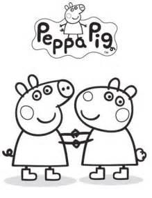 peppa pig coloring print