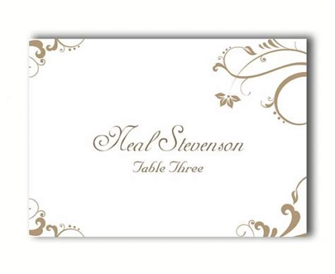diy place cards templates place cards wedding place card template diy editable