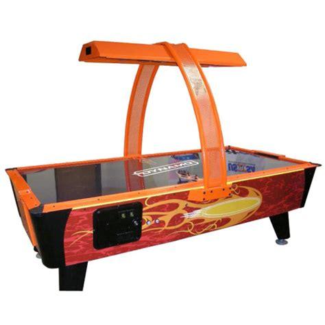 dynamo firestorm coin operated air hockey table