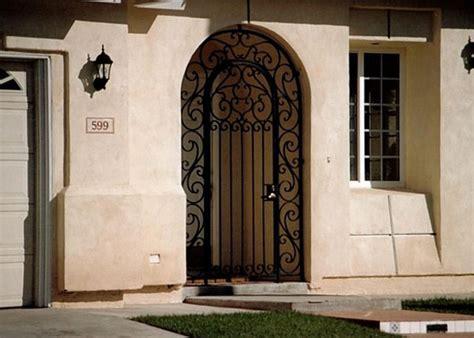 front door gates wrought iron security doors screens san diego ca