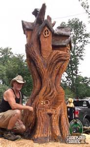 chainsaw carving paul