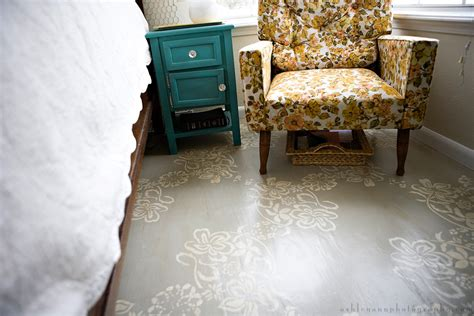 Painted Floors by Refresheddesigns Green Idea Diy Painted Floors
