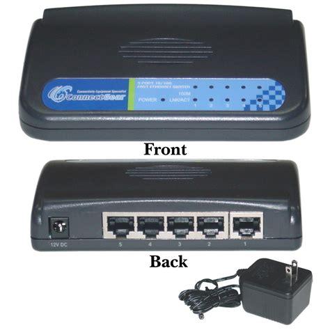Fast Ethernet Switch 5 port fast ethernet switch 10 100 auto negotiation