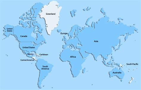 world continent map  fill eruvorg