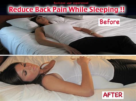 Best Way To Use A Pillow While by Back Level Best Back Pillow For Back Lower Back