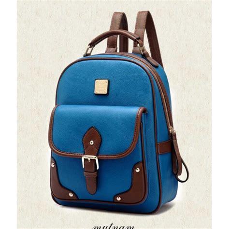 P69 Tas Ransel Korea Import Wanita Dompet Handbag Clutch Backpack S tas ransel korea bag915 moro fashion