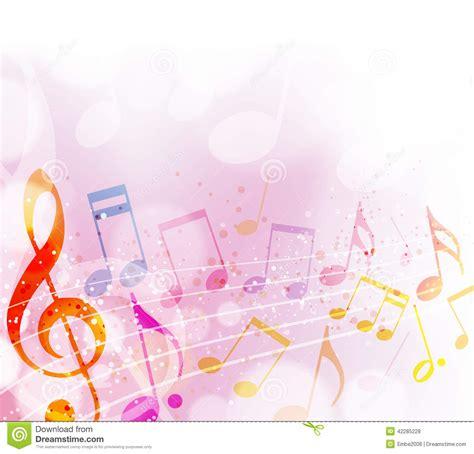 imagenes de notas musicales sin fondo notas musicales ilustraci 243 n del vector imagen 42285228