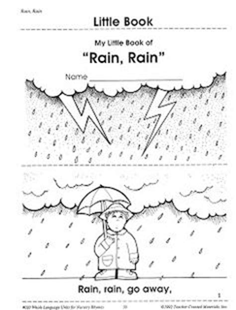 coloring pages for rain rain go away preschool on pinterest 563 pins
