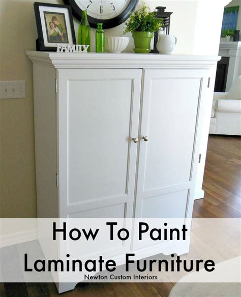 how to paint furniture how to paint laminate furniture newton custom interiors