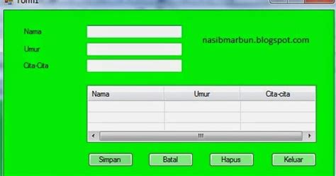 cara membuat gambar bergerak di vb net nasib marbun cara membuat dan menilkan tabel listview
