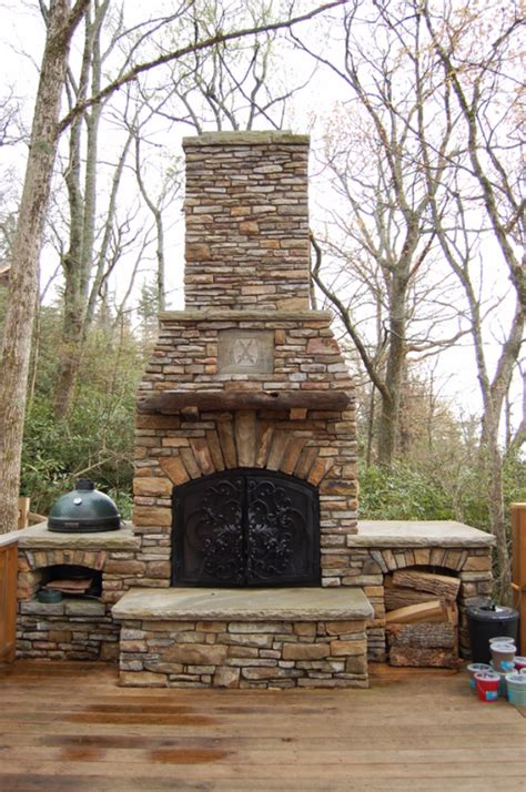 how to build a backyard fireplace 31 diy outdoor fireplace and firepit ideas diy joy