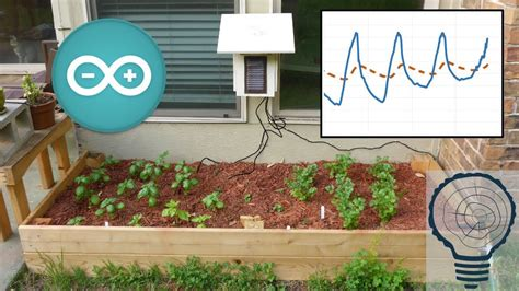 arduino garden controller automatic watering  data