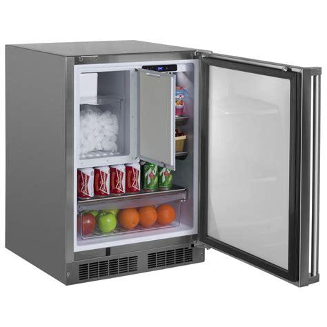 Dispenser Freezer 24 quot outdoor refrigerator freezer