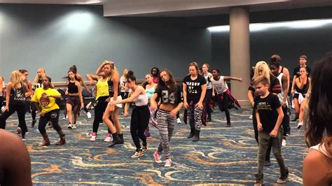 kenny wormald class jade chynoweth in kenny wormald s class at dancerpalooza