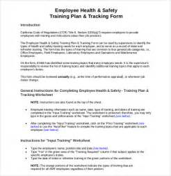 workplace plan template 10 employee tracking templates free sle exle