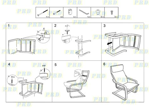 Poang Chair Assembly Bentwood Lounge Relax Chair Pillow Prd Furniture