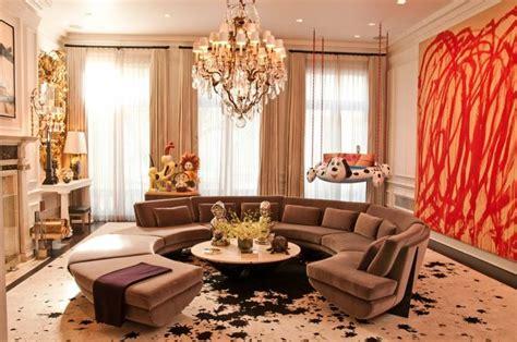 decoration de salon idees avec coussinstableaux  rideaux