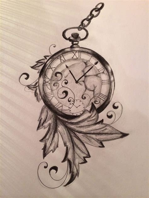 watch over me tattoo designs time is run away made by me draw inspiration