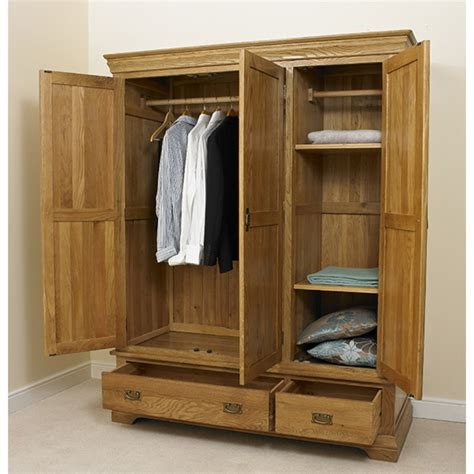 Wooden Wardrobe For Bedroom Wooden Wardrobe 3 Door