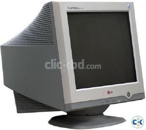 Tv Lg Flatron 14 Inch flatron lg 17 inch crt monitor clickbd