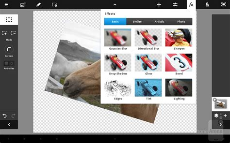 photoshop app for android adobe photoshop touch for android review