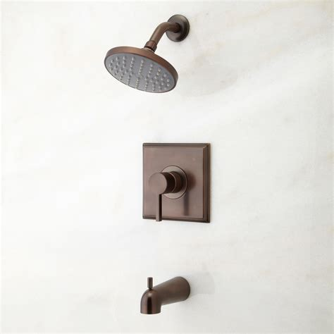 flair tub shower set 2 with widespread sink faucet