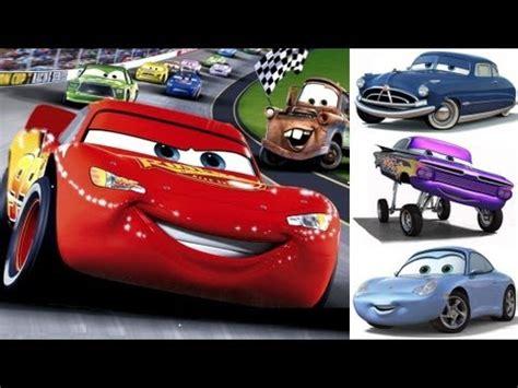 youtube mcqueen film cars 1 disney pixar lightning mcqueen mater the